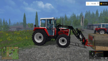 Twin tires, snow chains Pack STEYR 8060 SK2 V 1 LS15 (2)