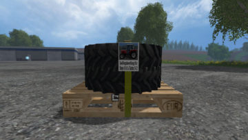 Twin tires, snow chains Pack STEYR 8060 SK2 V 1 LS15 (4)