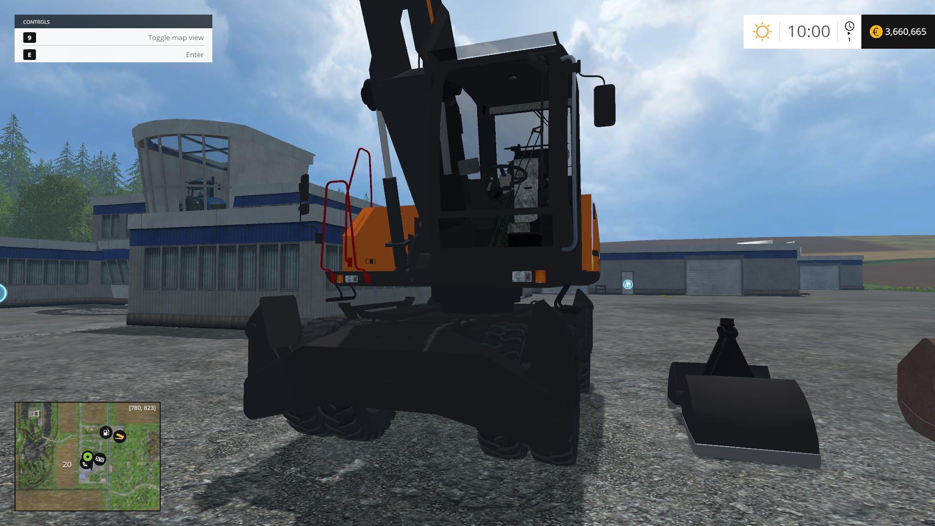 ATLAS 250MH V2 FS 2015 - Farming simulator 2019 / 2017