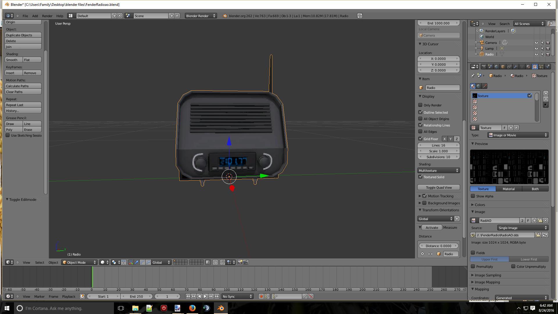 FENDER RADIO BETA LS15 - Farming simulator 2019 / 2017