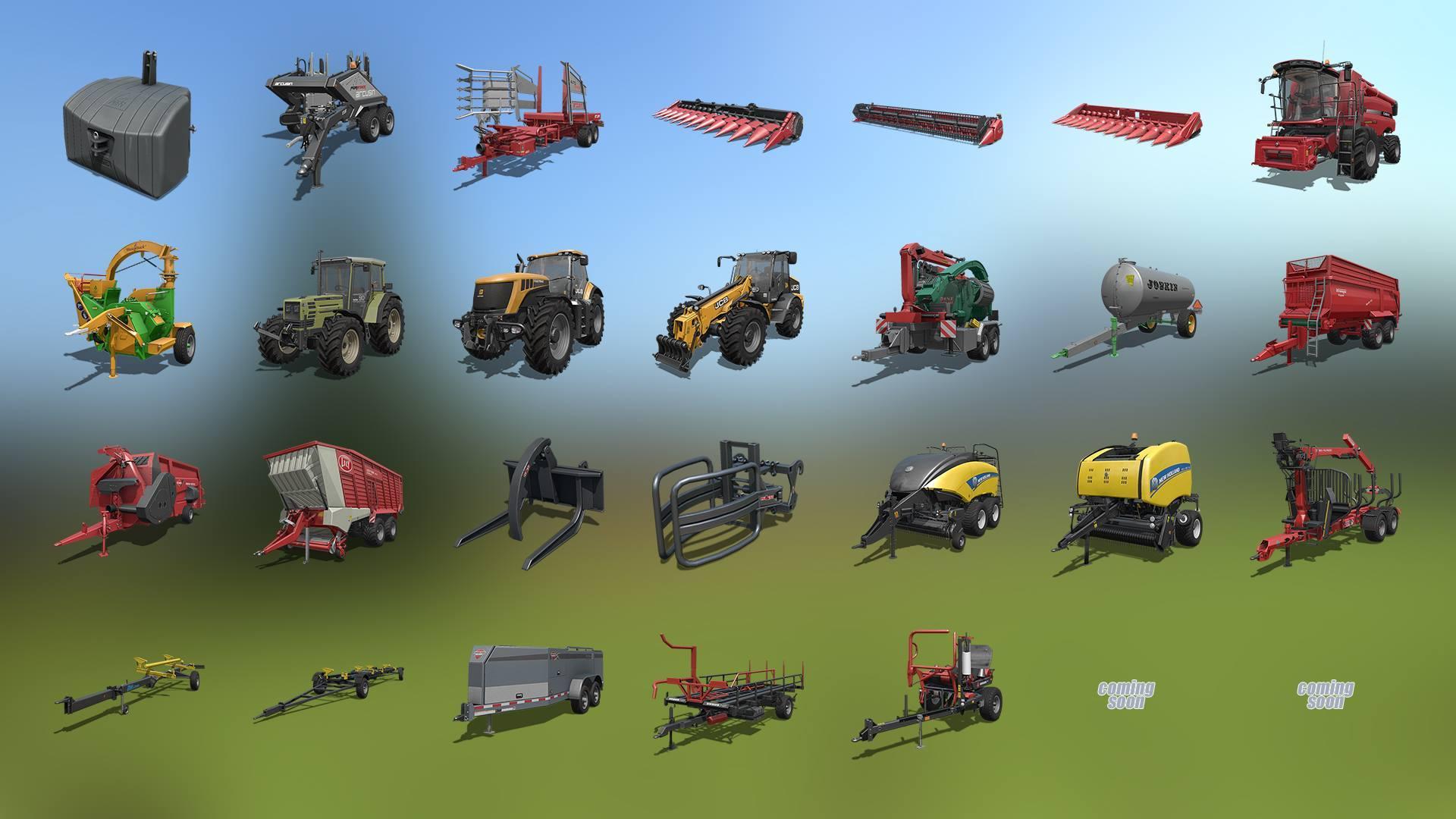 FS 17 new vehicles - Farming simulator 2019 / 2017 / 2015 Mod