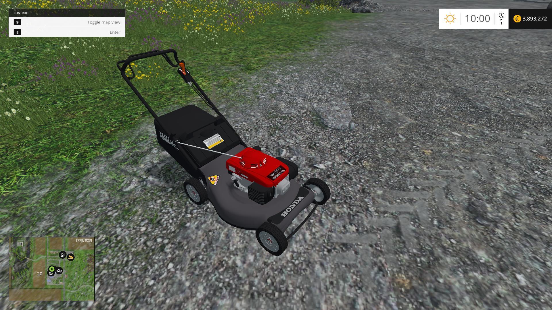 Honda Push Mower V1 Mod Farming Simulator 2017 2015