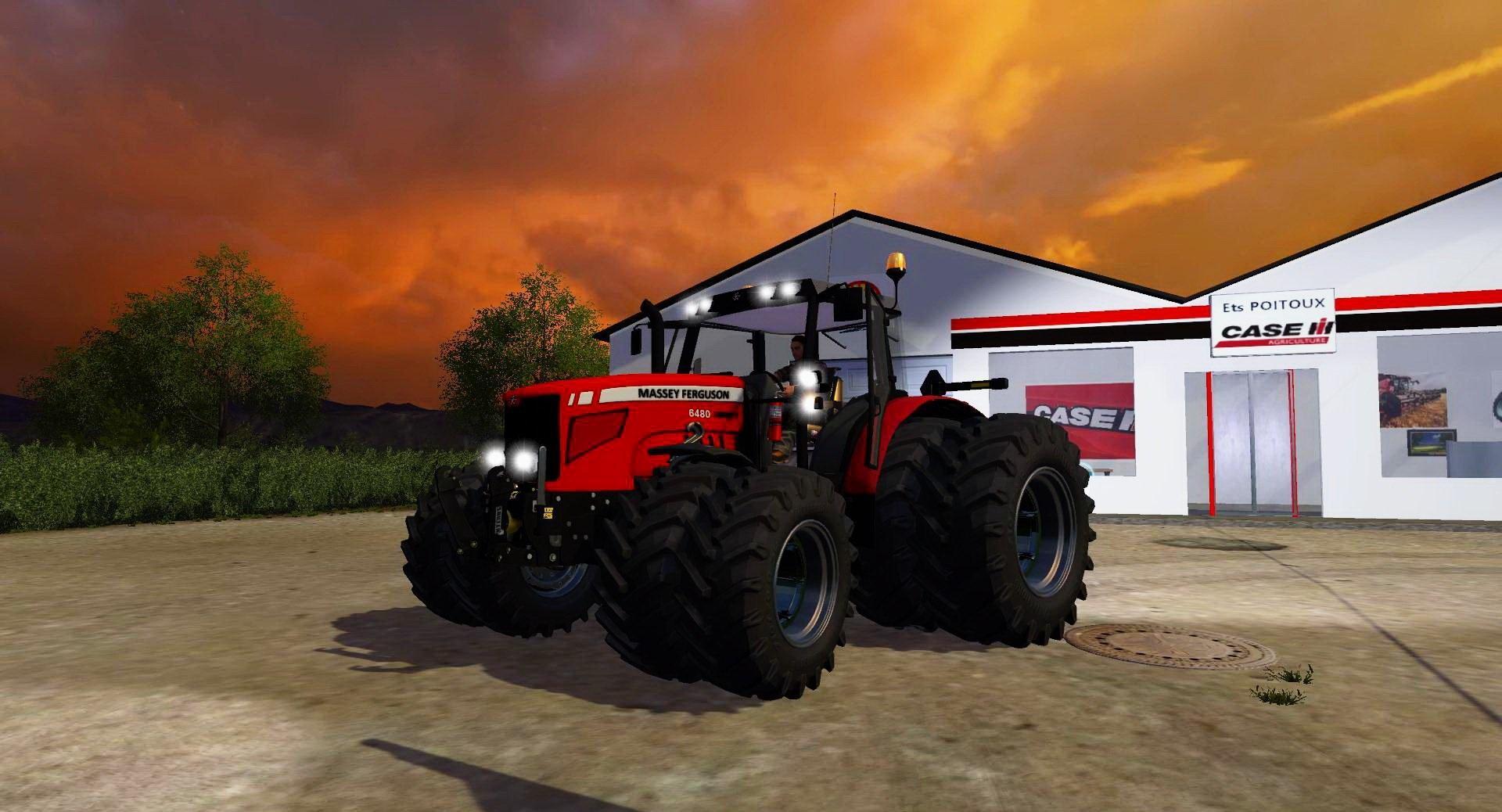 Massey Ferguson 6480 V1 0 Mod Farming Simulator 2019