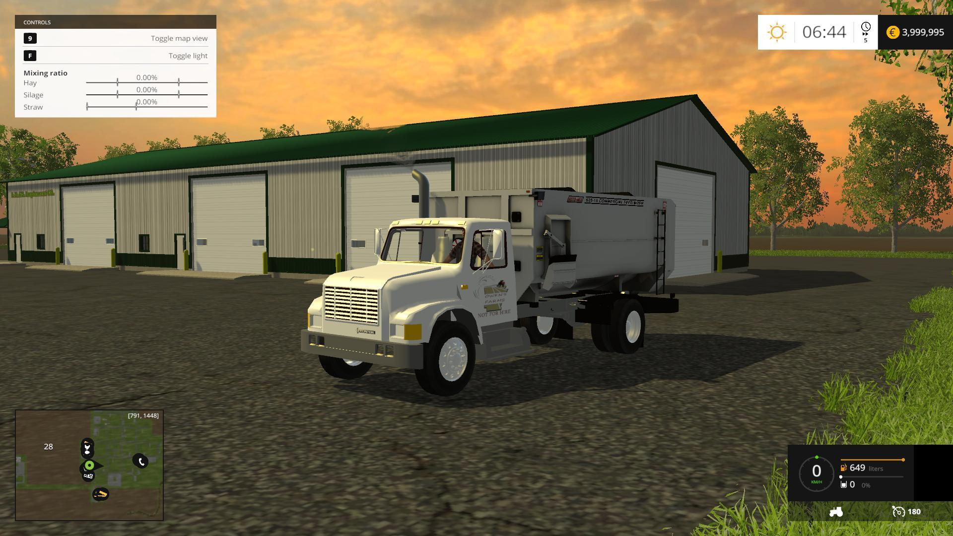 MIDWEST GRAIN AND LIVESTOCK V MAP Farming Simulator - Farming simulator 2015 us map feed cows