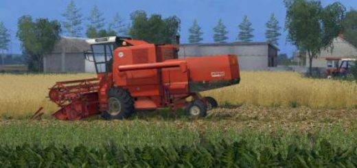 BIZON BS Z110 COMBINE - Farming simulator 2019 / 2017 / 2015 Mod