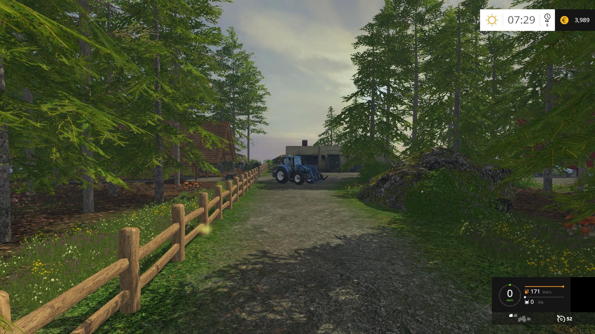 FOREST ISLAND NORWAY V MAP Farming Simulator - Norway map fs 15