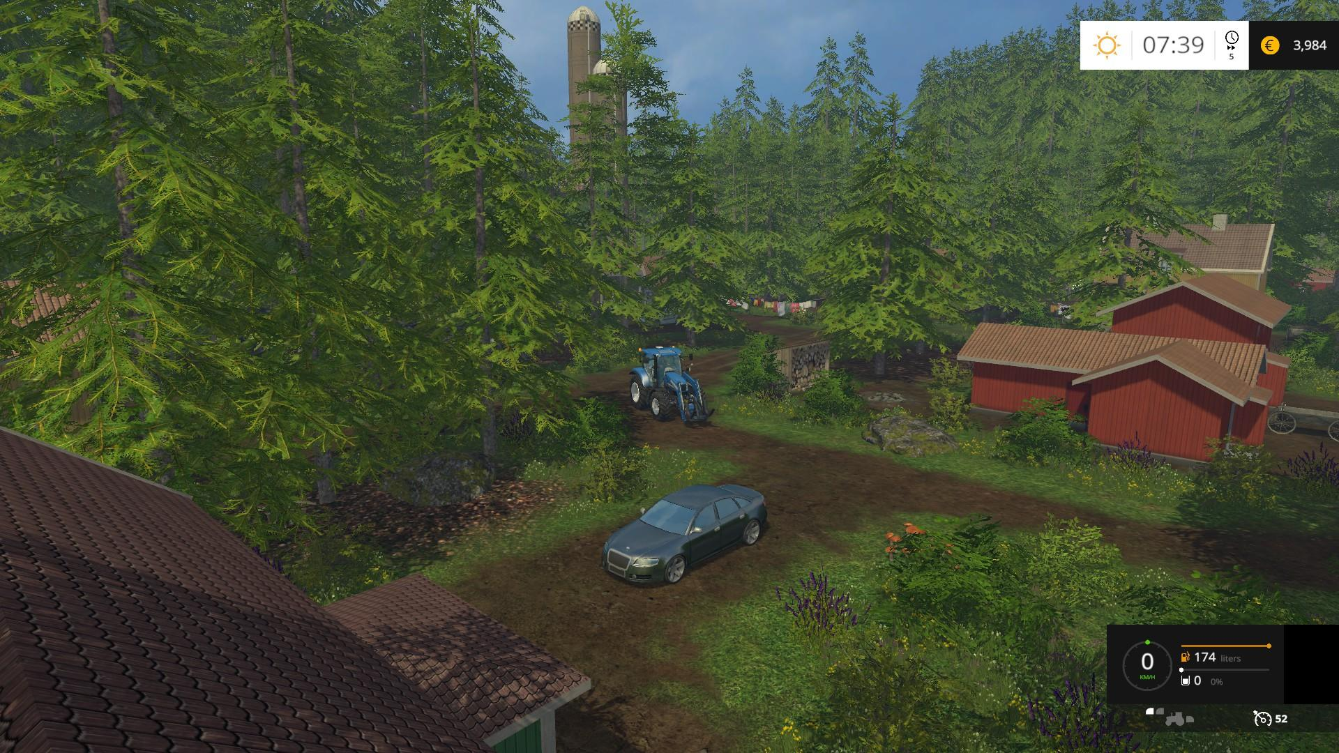 FOREST ISLAND NORWAY V MAP Farming Simulator - Norway map farming simulator 2015