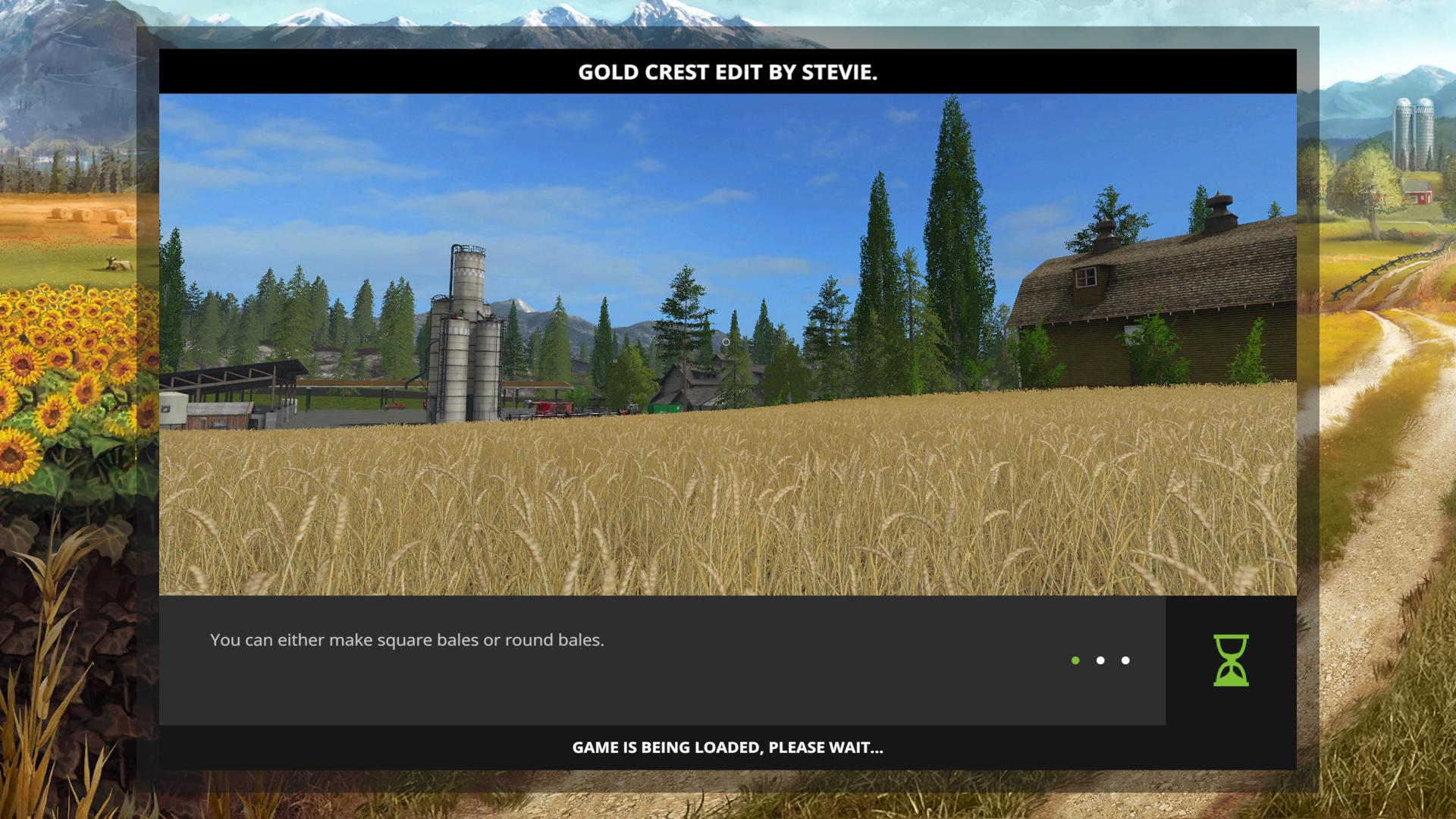 FS GOLD CREST EDIT BY STEVIE V Farming Simulator - Us map mod fs 17