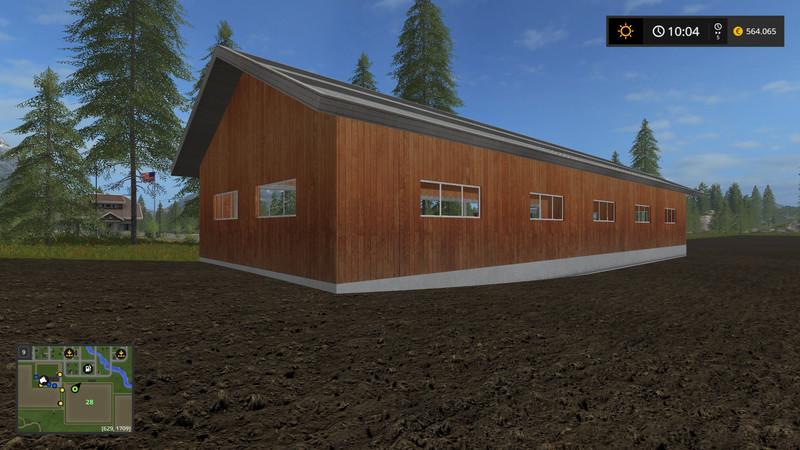 Fs17 Garage Placed Anywhere V 100 Farming Simulator 2019 2017