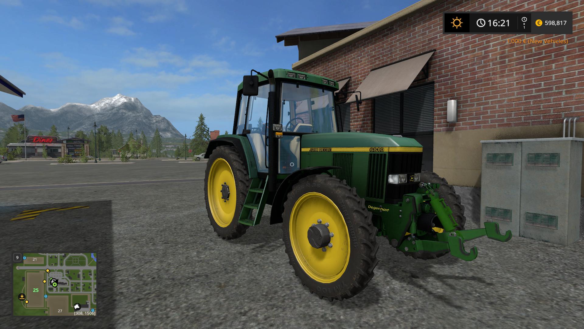 John Deere Side By Side >> FS17 JOHN DEERE 6810 SP EDITION - Farming simulator 2017 ...