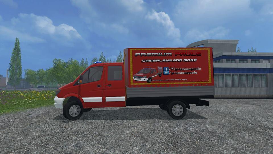Vw Bus 2015 >> Feuerwehr GW-L LS15 - Farming simulator 2017 / 2015 | 15 / 17 LS mod