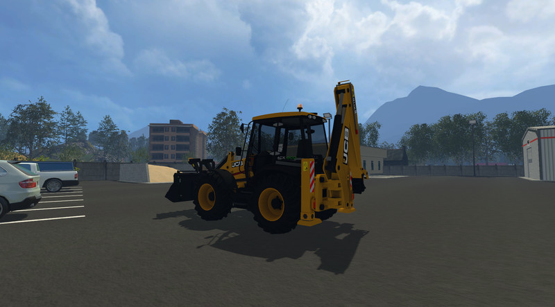 JCB 4CX V 1 0 Mod - Farming simulator 2019 / 2017 / 2015 Mod