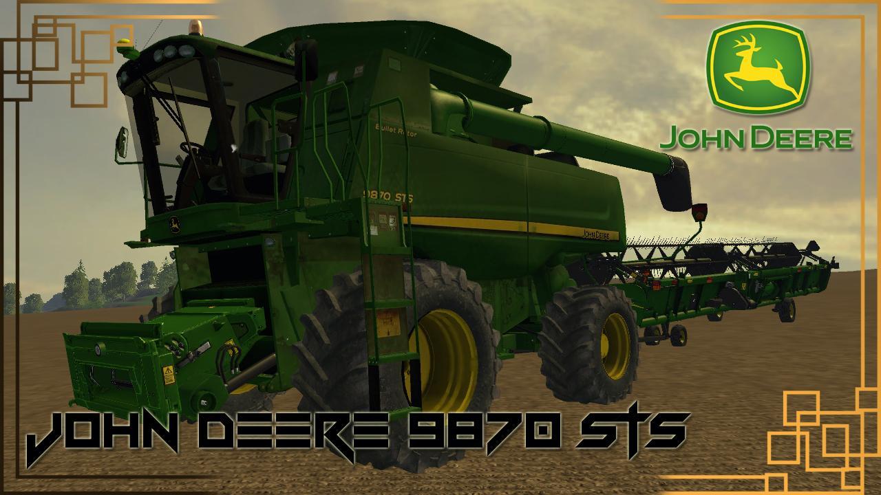JOHN DEERE 9870 STS V1.0 COMBINE