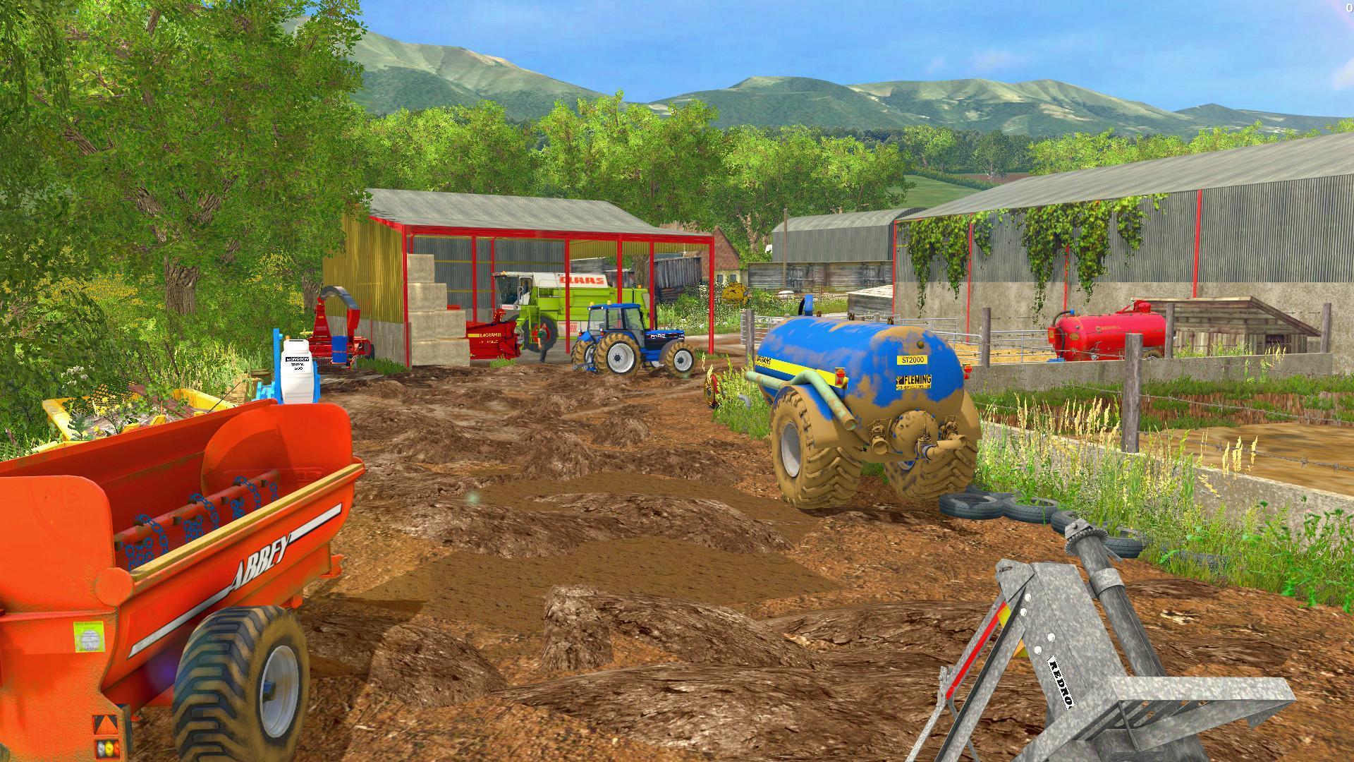 KNAVESWELL FARM EXTENDED V1 0 FS15 - Farming simulator 2019
