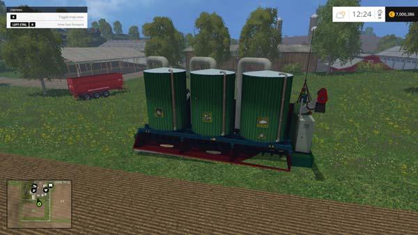 Mixing station v 3 0 0 Mod - Farming simulator 2019 / 2017