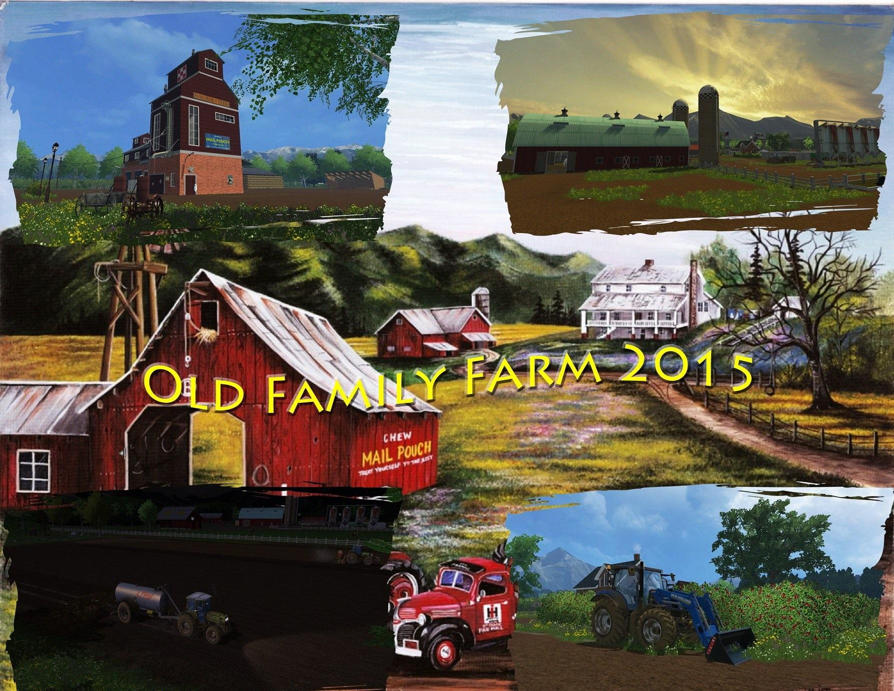 OLD FAMILY FARM MAP FS 2015 V10 Farming simulator 2017 2015