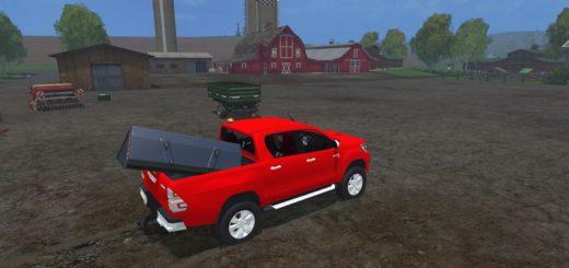 Toyota Hilux - Farming simulator 2019 / 2017 / 2015 Mods