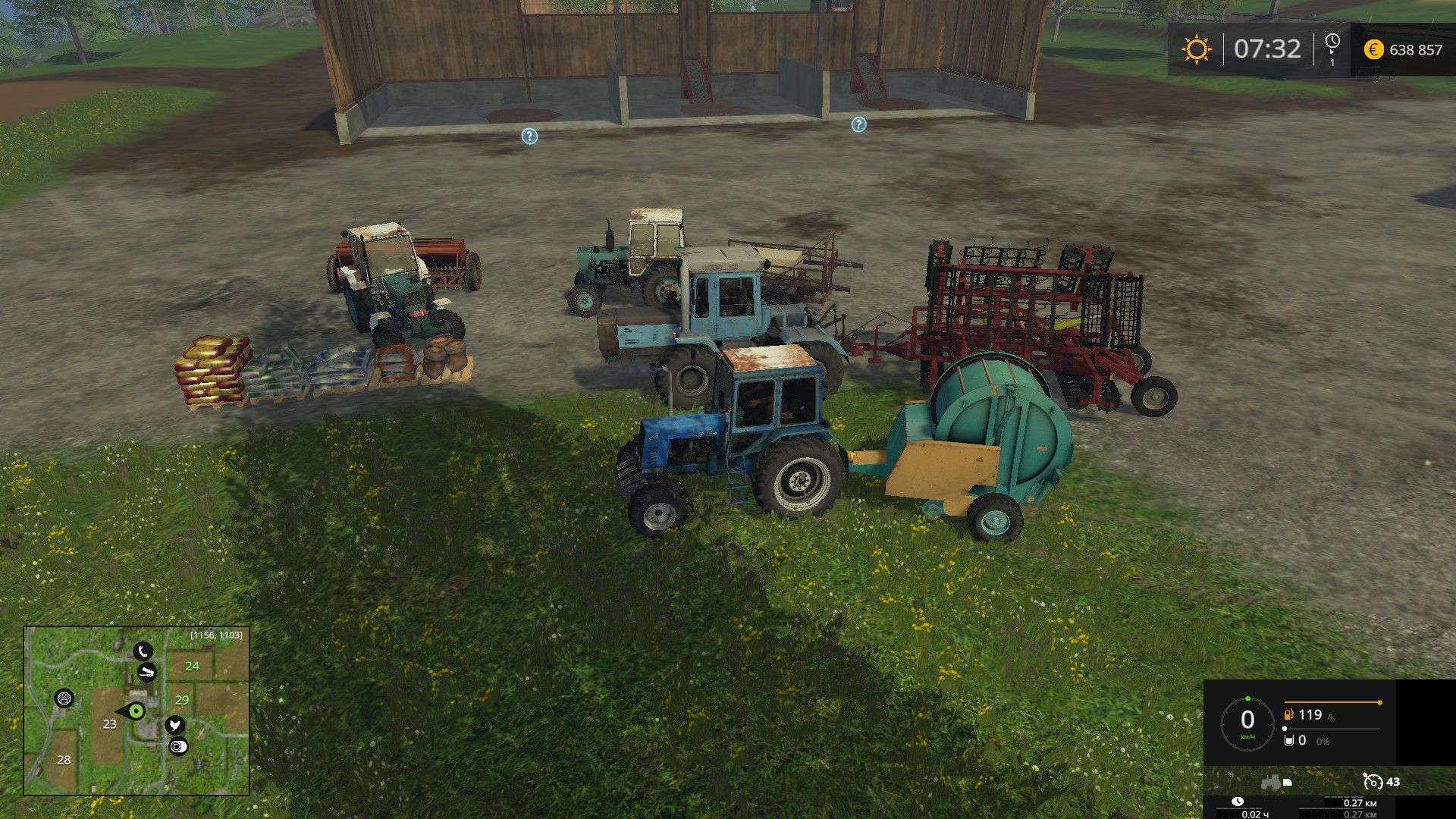FS15 optimal pack of mods for the game - Farming simulator