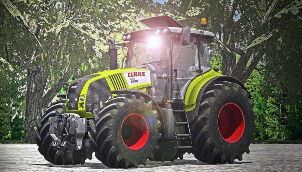 Fs17 Claas Axion 850 Pack Farming Simulator 2019 2017