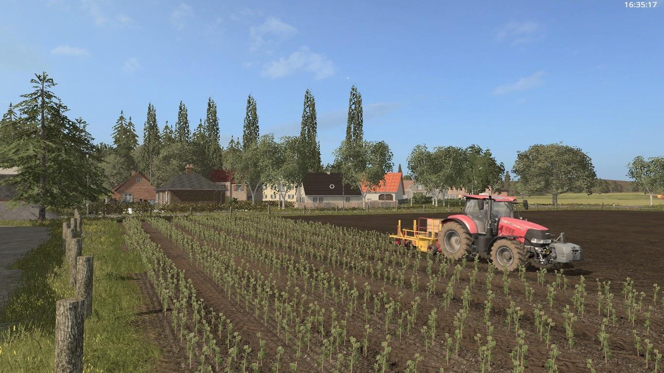 FS HOLZHAUSEN FS V Farming Simulator - Us map mod fs 17