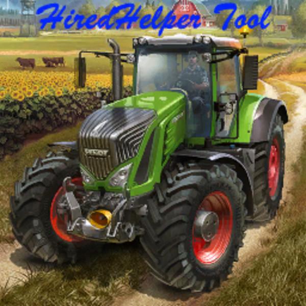 FS17 HiredHelperTool V 0.4 - Farming simulator 19 / 17