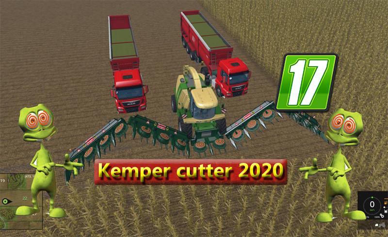 FS17 Kemper cutter 2020 V 1 0 - Farming simulator 2019 / 2017 / 2015 Mod
