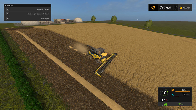 FS SampleModMap V Farming Simulator - Us map mod fs 17