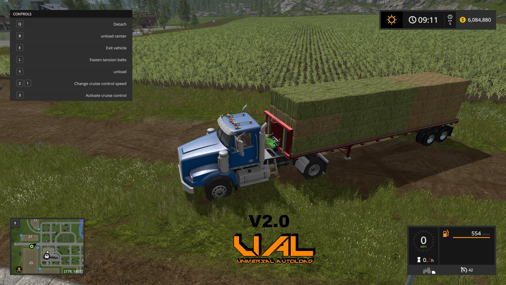 FS17 US TRAILER WITH AUTOLOAD FEATURE V2 0 - Farming
