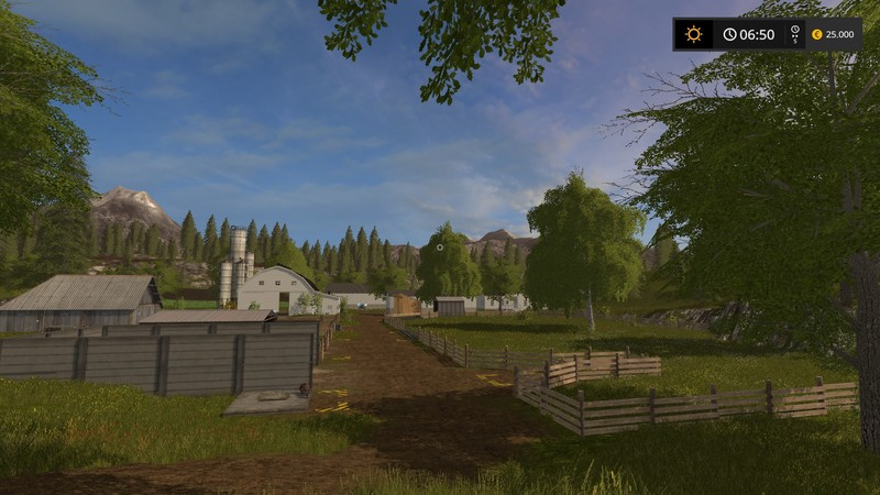 FS Us Valley V Farming Simulator LS Mod - Fs 17 us map