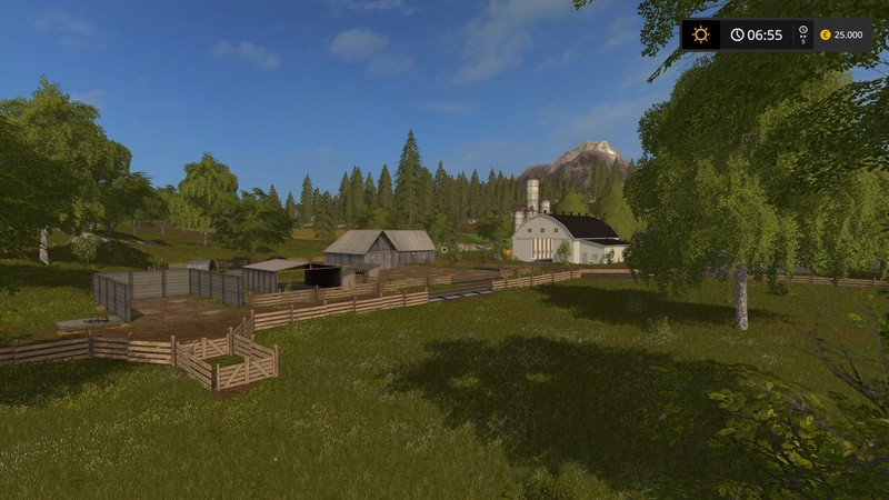 FS Us Valley V Farming Simulator LS Mod - Us 17 map