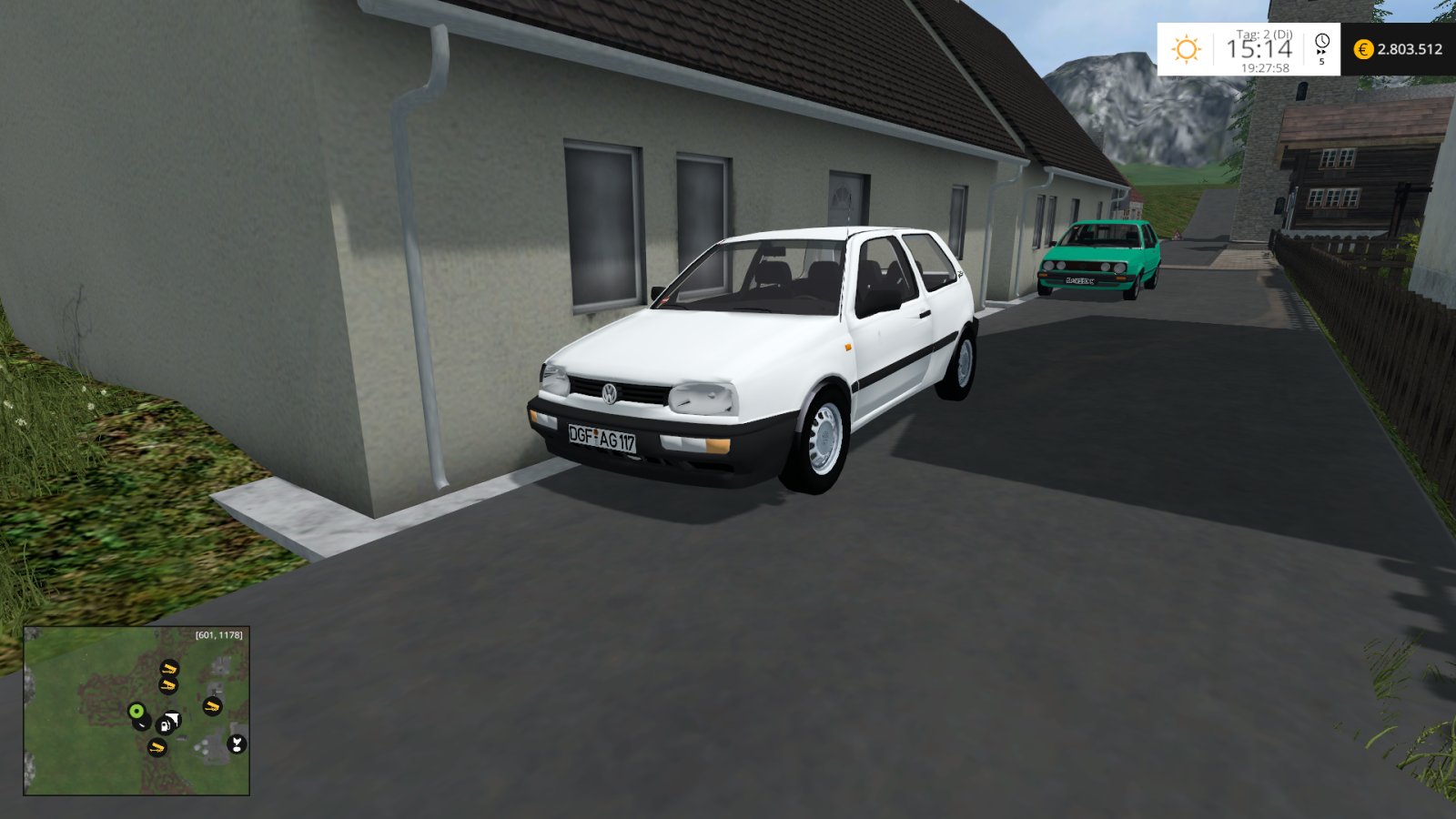 FS15 VW Golf III 1.6 CL Europeac - Farming simulator 2019 ...
