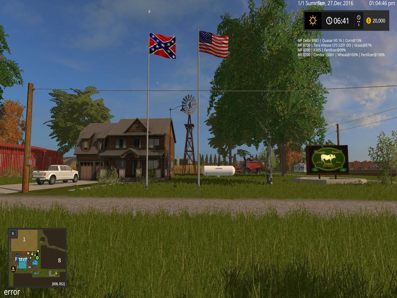 FS AMERICAN FARMING V BETA Farming Simulator - Fs 17 us map