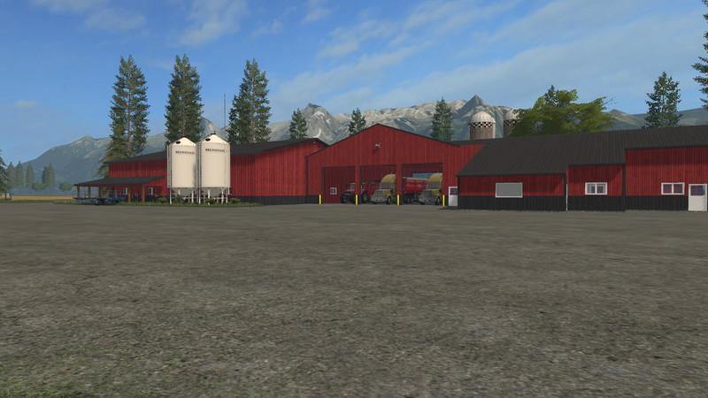 Farming Simulator 17 American Map.Fs17 Americanfarm V 1 Farming Simulator 2019 2017 2015 Mod