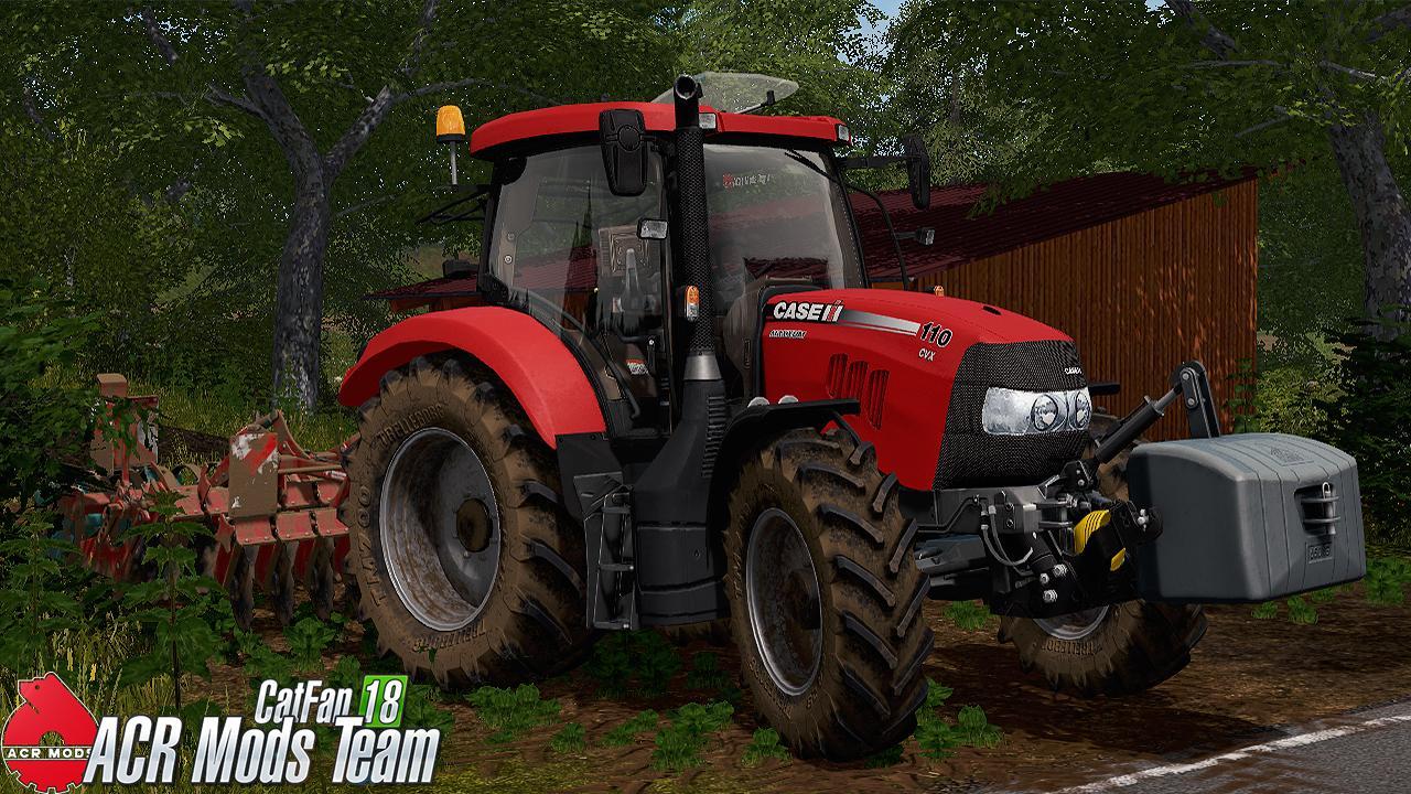 FS17 CASE MAXXUM CVX 110 BY CATFAN18 - Farming simulator
