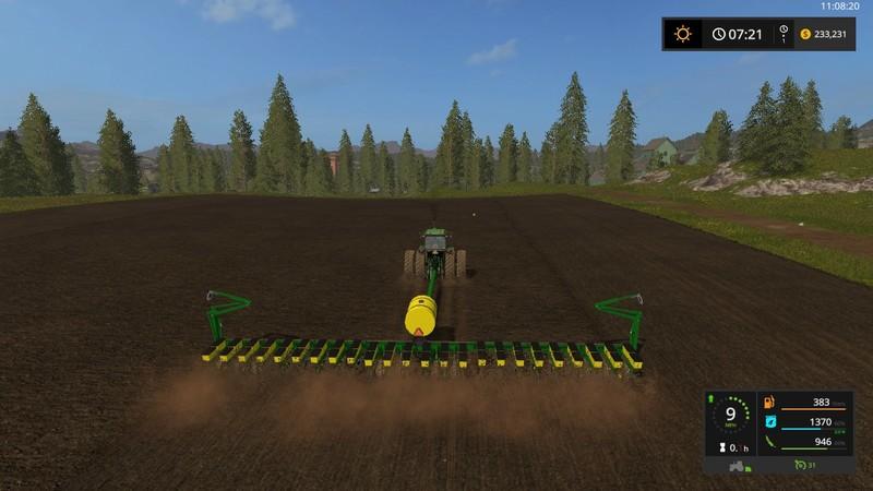 Fs17 John Deere 7200 24 Row Planter V 1 1 1 Farming Simulator 2019