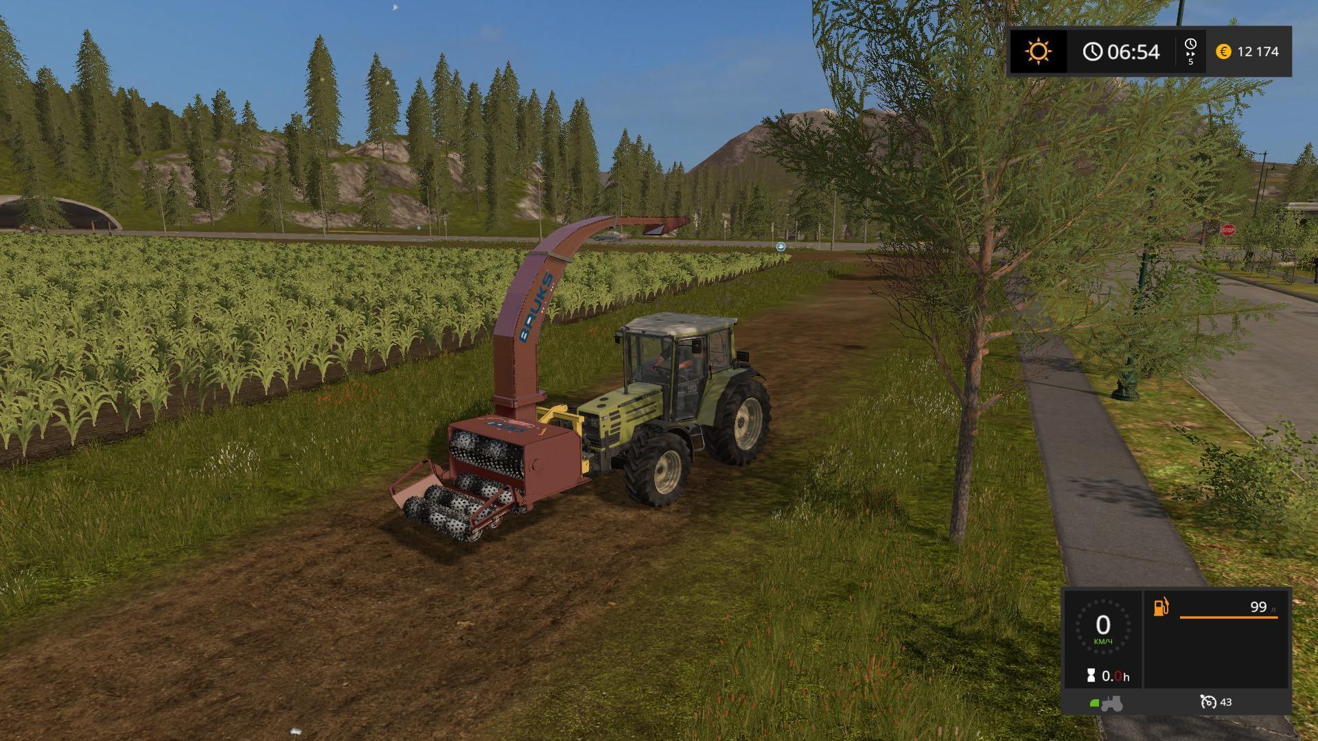 FS17 BRUKS V1.2 - Farming simulator 2019 / 2017 / 2015 Mod