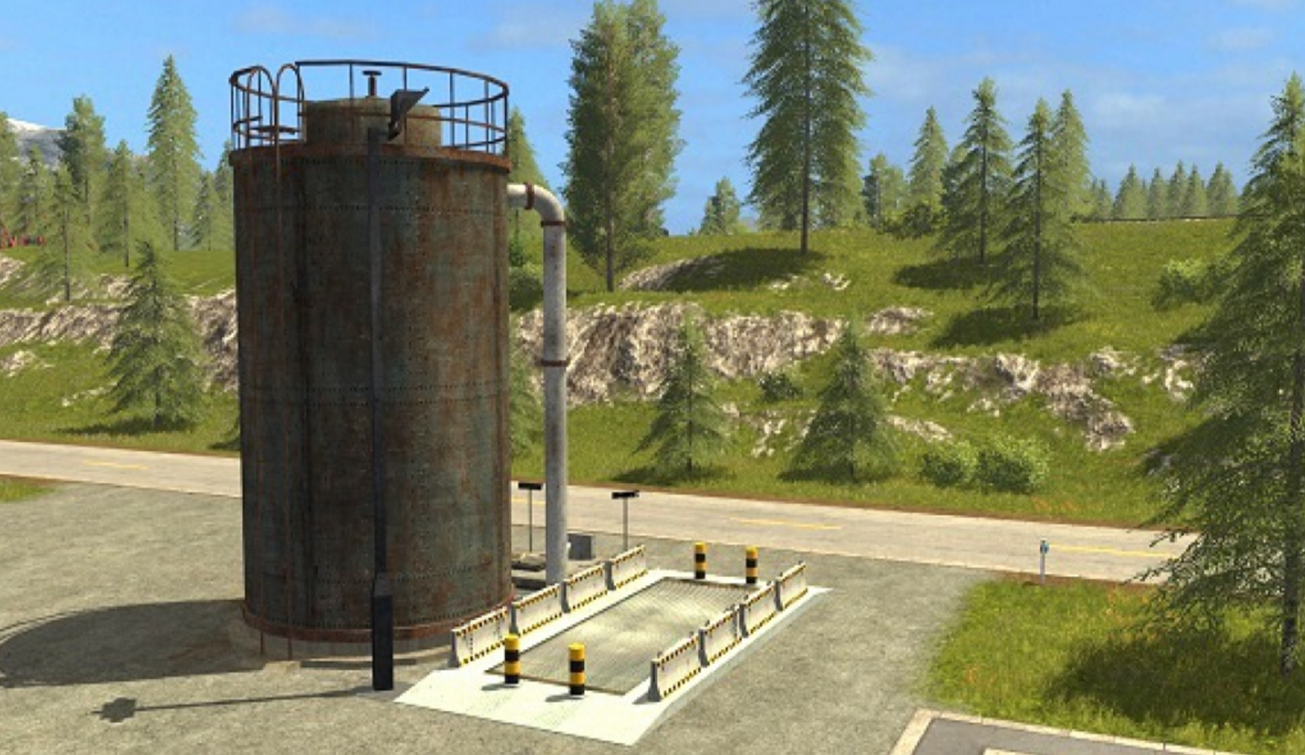 Fermenting Silo - Farming simulator 2019 / 2017 / 2015 Mods