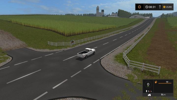 FS GRAIN PRODUCTION MAP V TEXTURE UPDATE Farming Simulator - 4 lane highway map of us