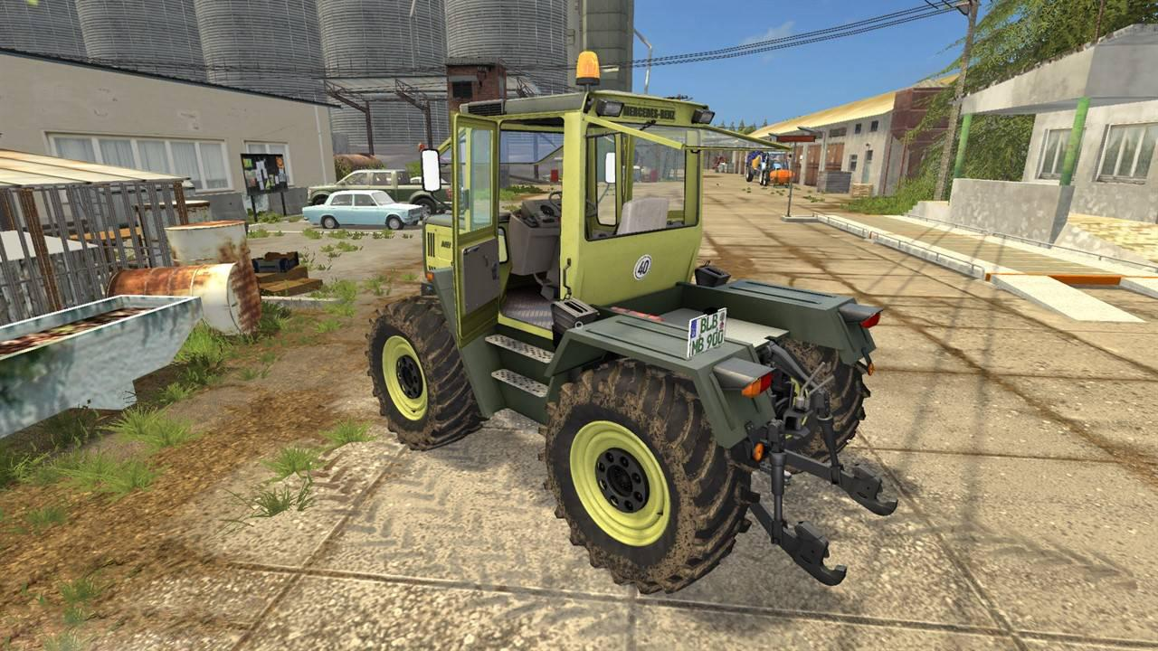 fs17 mercedes benz trac 900 turbo v2 0 farming simulator. Black Bedroom Furniture Sets. Home Design Ideas