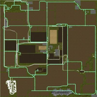 FS17 SAXONIA MAP - Farming simulator 2019 / 2017 / 2015 Mod
