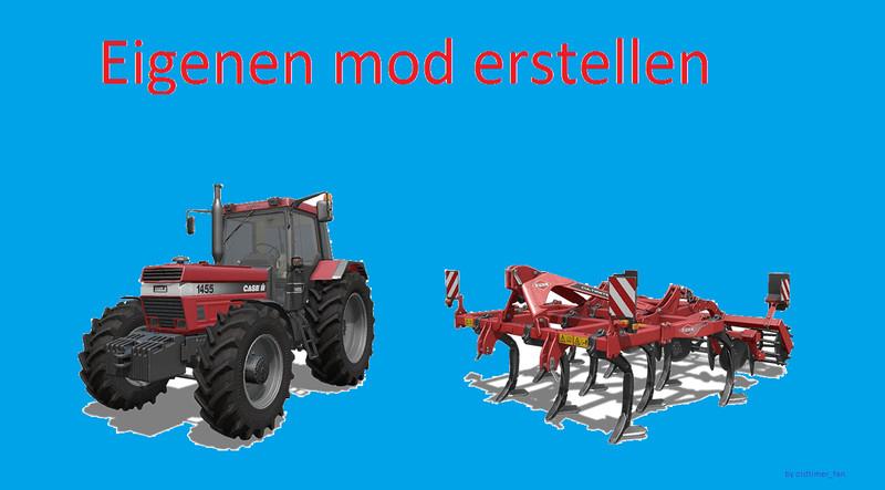 FS17 create your own mod V 1 0 - Farming simulator 2019