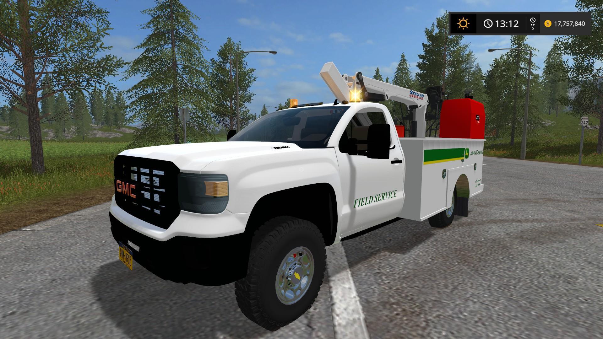 Fs17 2016 Chevy Silverado 3500hd Service Truck Farming