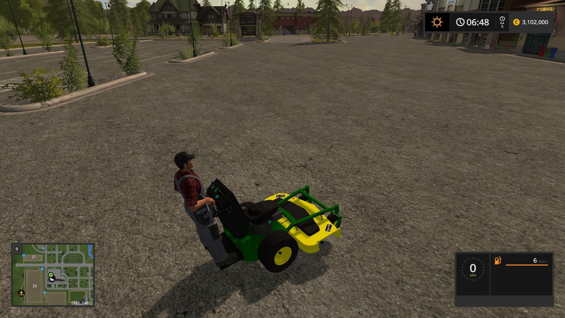 FS17 JOHN DEERE ZERO TURN CONVERTED V1 3 - Farming simulator 2019