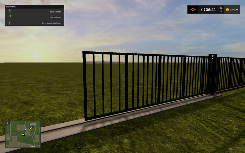 map on door fs17 samplemodmap with animations for doors and lights v 1000