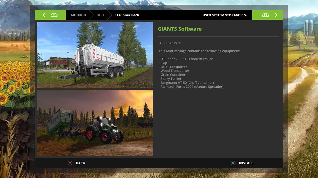 Farming Simulator 17 / 2017 Mods on Consoles: Xbox One, PS4, Xbox
