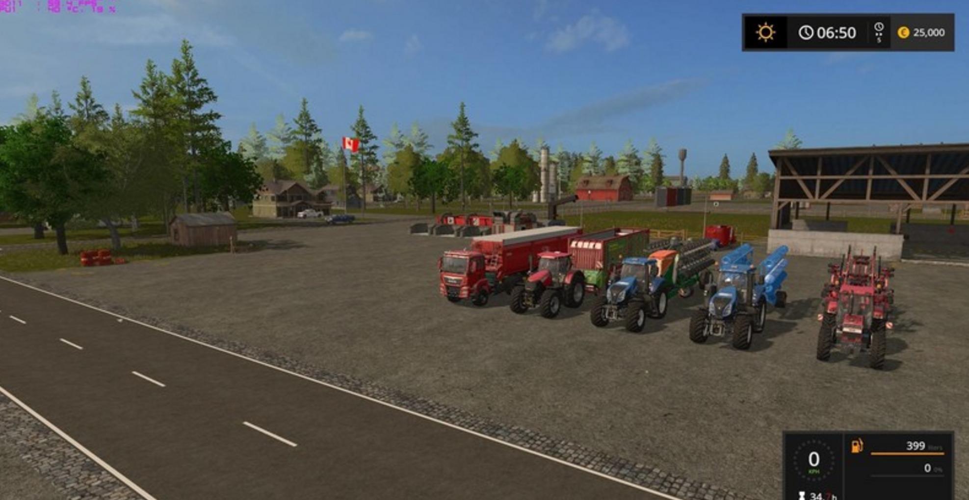 FS17 Canadian National Map V 71 Farming simulator 2017 2015