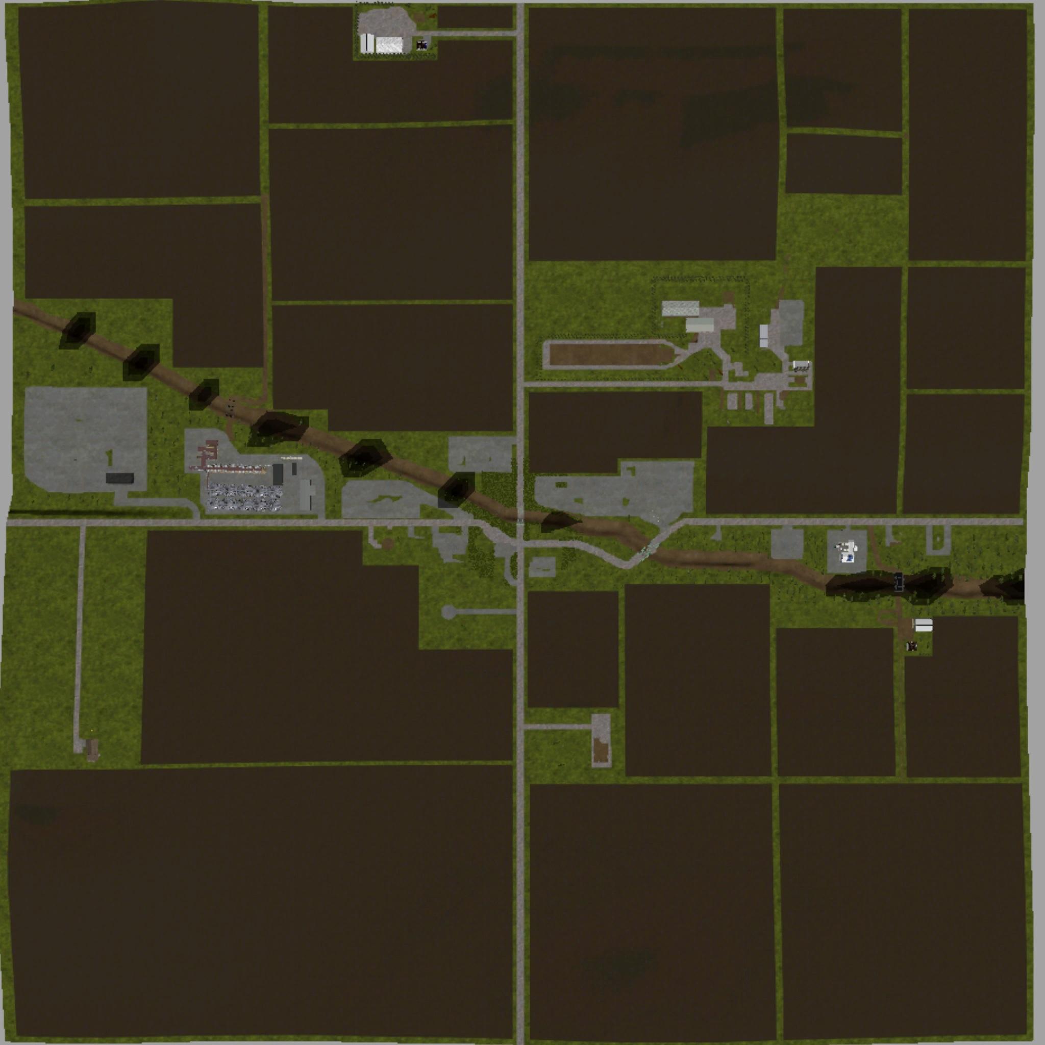 FS17 ELKHORN VALLEY V1 - Farming simulator 2019 / 2017