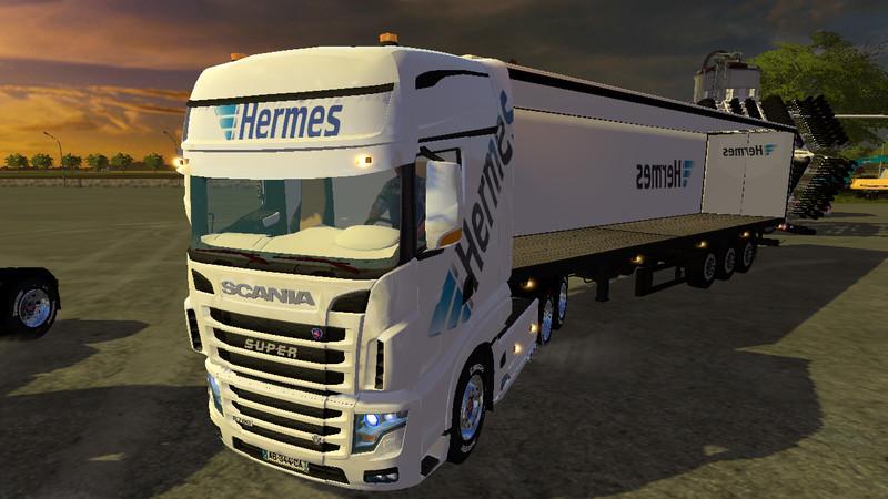 fs17 hermes truck v 1 0   farming simulator 2017 2015
