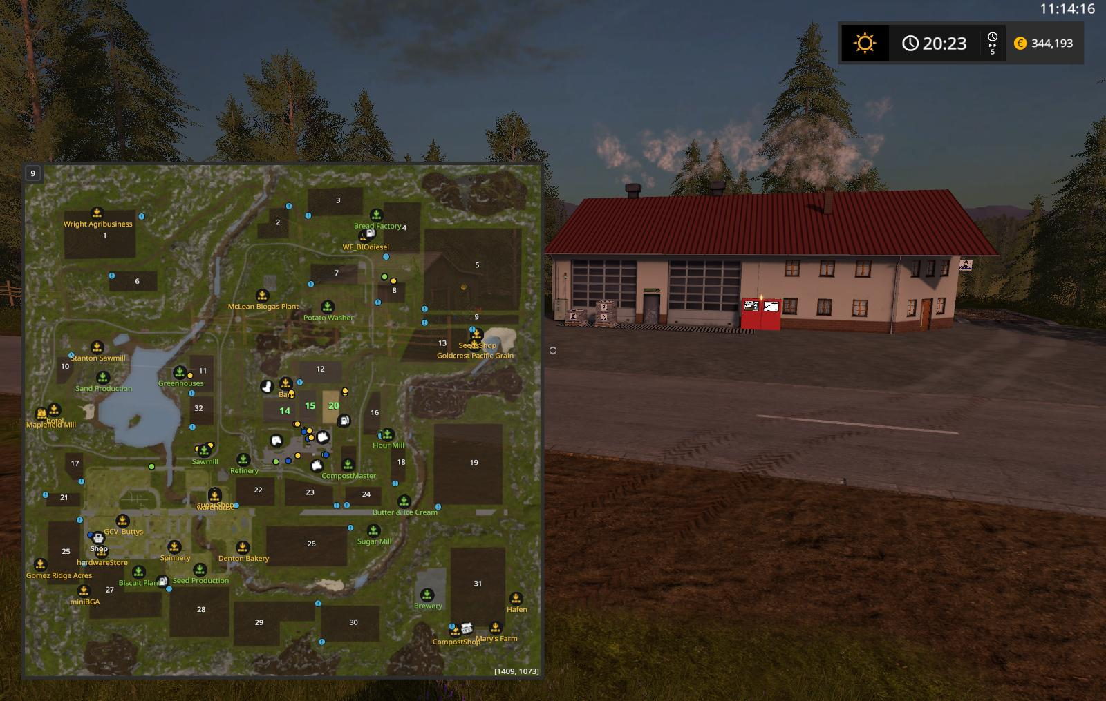 FS PRODUCTION MAP V Farming Simulator - Fs 17 us map