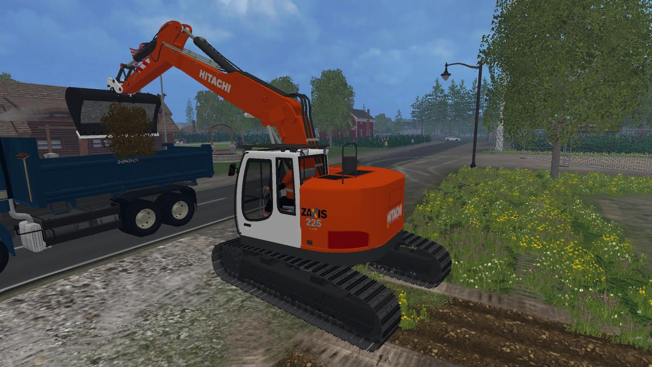 Fs15 Hitachi Zx225 V1 0 Farming Simulator 2019 2017